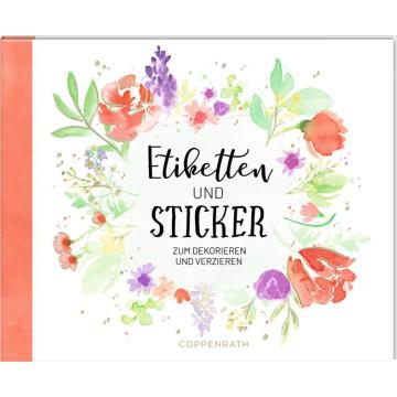 Stickerbuch - Etiketten & Sticker. Zum Dekorieren und Verzieren