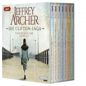 Hörbuch »Jeffrey Archer: Die Clifton Saga«