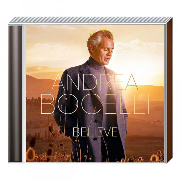 CD »Andrea Bocelli - Believe«