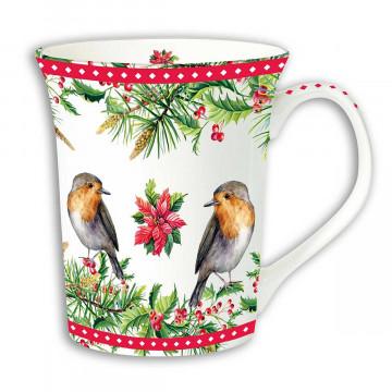 Tasse »Rotkehlchen«