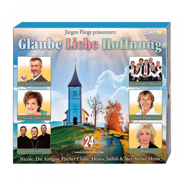 4 CDs »Glaube, Liebe, Hoffnung«