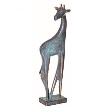 Bronzefigur Giraffe
