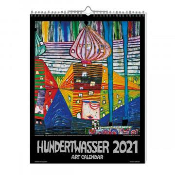 Kunstkalender »Hundertwasser« 2021