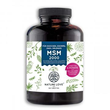 MSM 2000 Gelenke-Tabletten