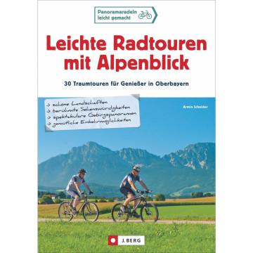 Leichte Radtouren mit Alpenblick