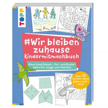 'Wirbleibenzuhause - Kindermitmachbuch