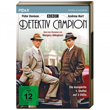 DVD »Detektiv Campion«