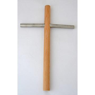 Edelstahl Kreuz groß