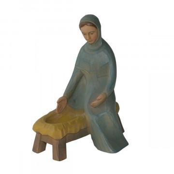 Maria, sitzend, mit Barren (1 Stück)