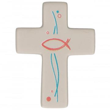 FeinbetonMagnet-Kreuz - Gott segne und behüte dich (1 Stück)