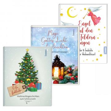 3er-Set Geschenkbücher »Weihnachten«