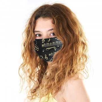 Gesichtsmaske aus Textil