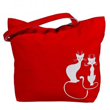 Einkaufstasche »Miez und Kater«