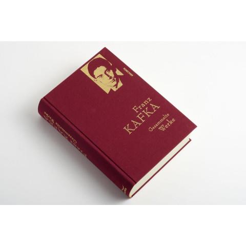 Franz Kafka - Gesammelte Werke (Iris®-LEINEN mit goldener Schmuckprägung)