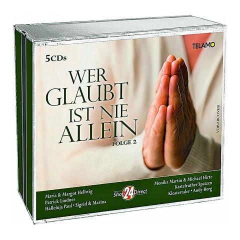 5 CDs »Wer glaubt ist nie allein«