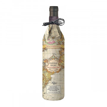Wein »Chateau de Jau Rouge Carte Ancienne«